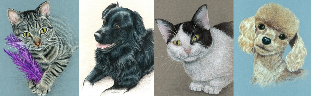 Pet Portraits by Margaret